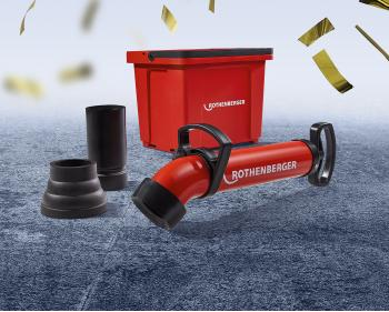 Set pompa pentru desfundat ROPUMP+BUCKET , Rothenberger , cod 1000002823