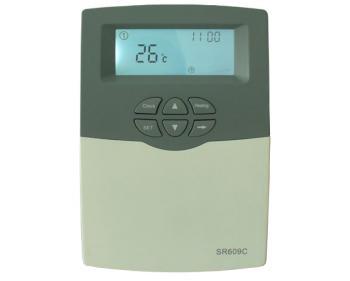 609C AgtTherm Automatizare solara pentru sisteme presurizate , display LCD , pentru model SPTV