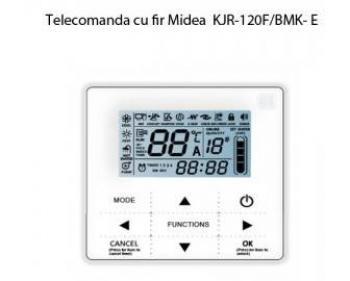 KJR-120F/BMK-E  Midea Agttherm ,  Telecomanda cu fir pentru pompa de caldura aer-apa model MGC-V