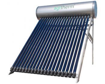 SPTV 150 Sistem solar compact presurizat , 15 tuburi vidate heat pipe +  boiler INOX 150 L