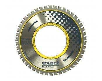 Cermet THIN140  Exact Tools Disc cu dinti din aliaj ceramic pentru aplicații grele, în special pentru tăierea oțelului inoxidabil și acid rezistent