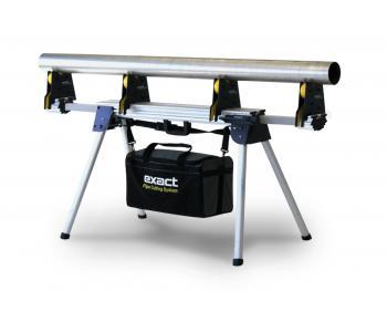 Pipe Bench 170 + Set complet  Exact Tools Dizpozitiv de asamblare a tevilor la fata locului