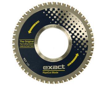 TCT 165 Exact Tools Disc pentru tăierea oțelului, cuprului, aluminiului și materialelor plastice
