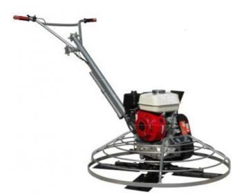 Masina de slefuit beton 4-1200 motor Honda,motor GX270