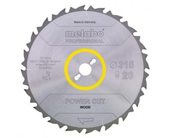 Disc Circular Metabo Power Cut Wood 450x3.5x30 ,cod 628020000