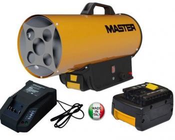BLP 17 M DC Master  Tun de caldura pe gpl cu acumulatori