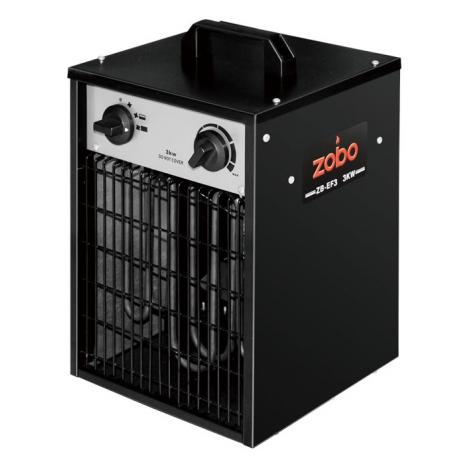 Aeroterma electrica Zobo ZB-EF3 , 3 kW , debit aer 470 mc/h