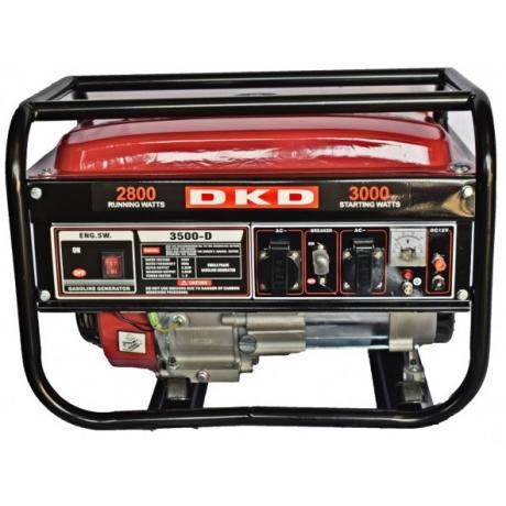 DKD LB 3500 Dakard Generator de curent monofazat cu pornire manuala si putere maxima 3 kw , cod DKDLB3500