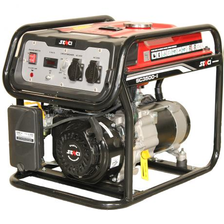 SC 3500 Senci Generator curent  , putere nominala 3,1 kVA , tip motor OHV , capacitate cilindrica 208 cmc