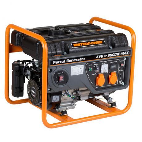 GG 3400 E Generator electric Stager 3 kW , rezervor 15 l , motor 4 timpi benzina