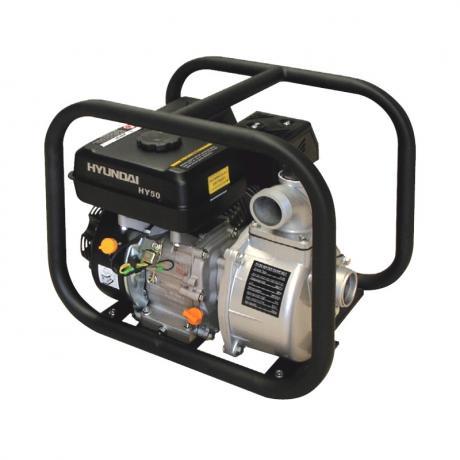 HY80  Hyundai Motopompa apa curata , motor Hyundai IC210 ,  7 Cp , debit 1.000 l/min