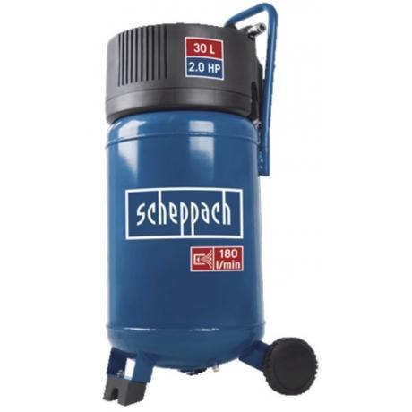 HC 30V Scheppach  Compresor cu piston , putere 1.3 kW , debit 180l/min